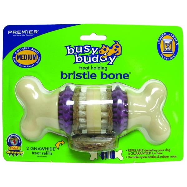 Busy Buddy Bristle Bone / Size Medium