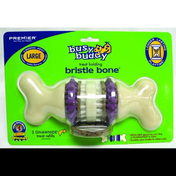 Busy Buddy Bristle Bone / Size Large