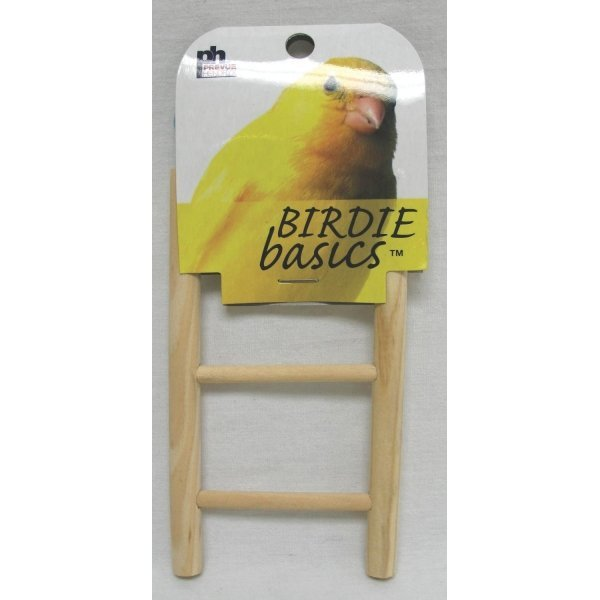 Birdie Basics Natural Wood Step Ladders / Type (3 Step) Best Price
