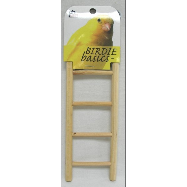 Birdie Basics Natural Wood Step Ladders / Type (5 Step) Best Price