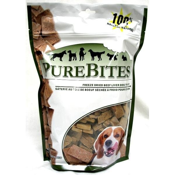 Dog Purebites Beef Liver / Size 16.5 Oz
