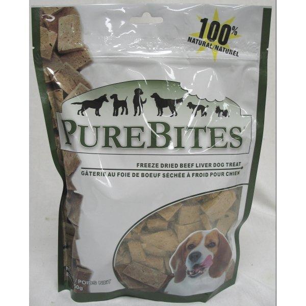 Dog Purebites Beef Liver / Size 8.8 Oz