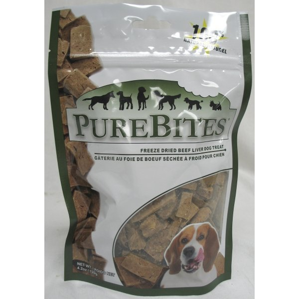 Dog Purebites Beef Liver / Size 4.2 Oz