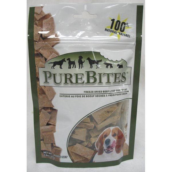 Dog Purebites Beef Liver / Size (2 oz.) Best Price