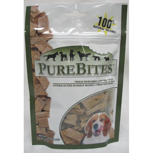 Dog Purebites Beef Liver / Size 2 Oz.