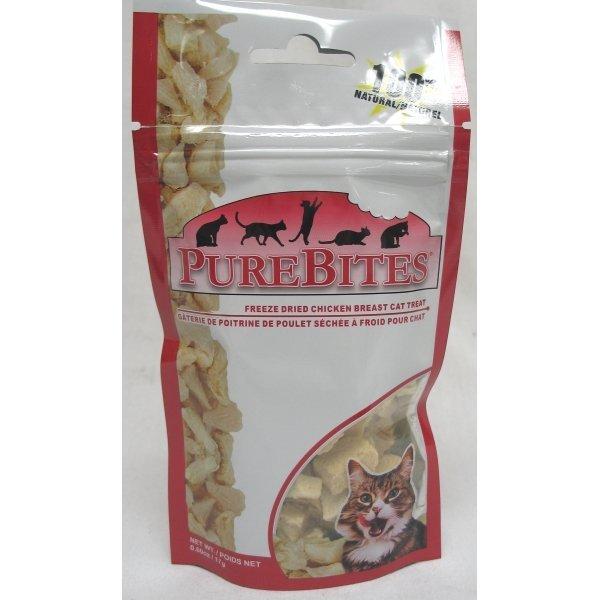 Cat Purebites 0.6 Oz. / Flavor Chicken Breast