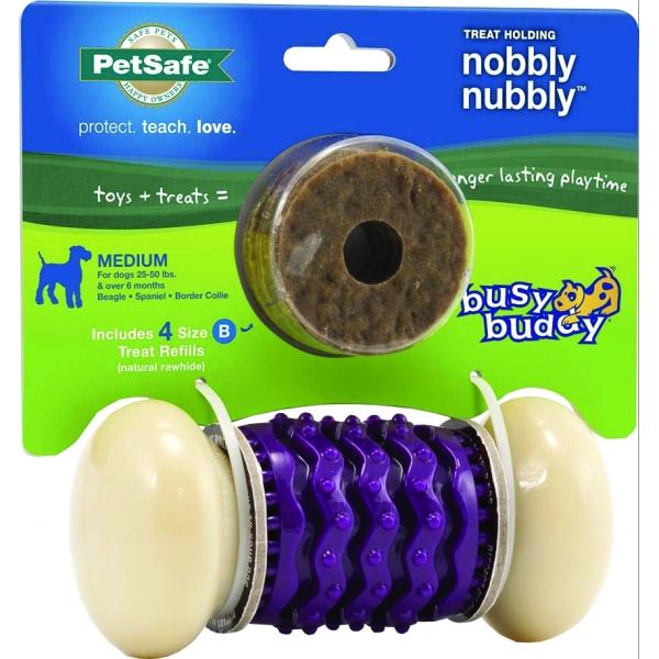 Busy Buddy Treat Holding Nobbly Nubbly Dog Treat Holder - Medium Best Price