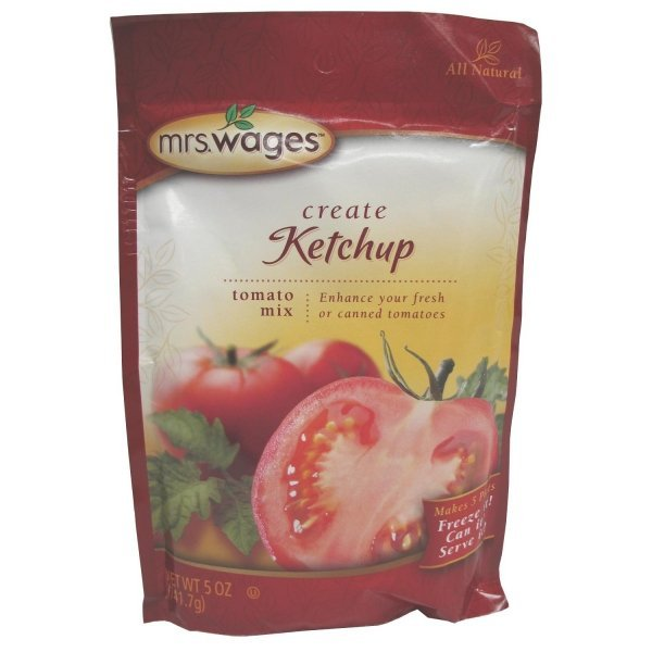 Mrs. Wages Ketchup Tomato Mix - 5 oz. Best Price