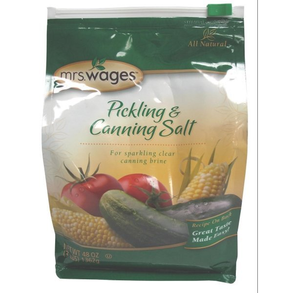 Mrs. Wages Canning and Pickling Salt - 3 lb. Best Price