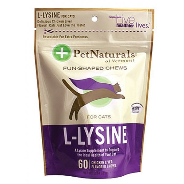 L-lysine For Cats - 60 ct. Best Price
