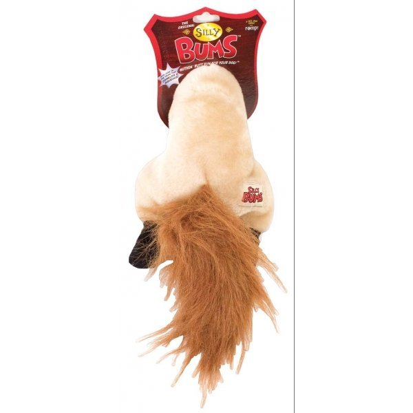 Silly Bums Dog Toy / Size Small Horse
