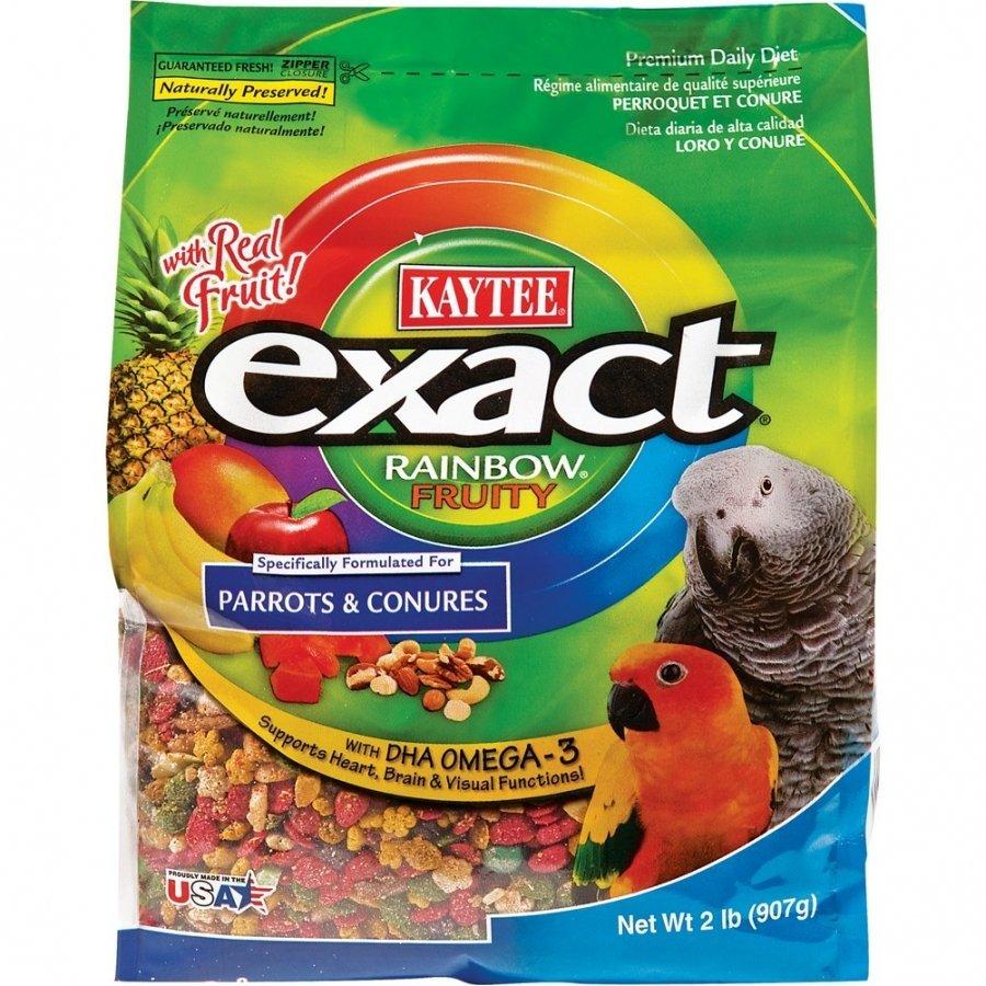 Exact Fruity Rainbow Parrot / Conure 2 Lbs