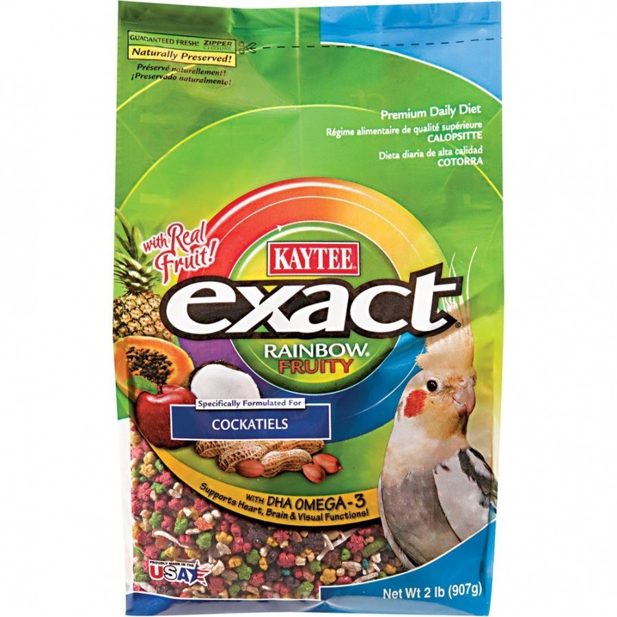 Exact Fruity Rainbow Cockatiel 2 Lbs