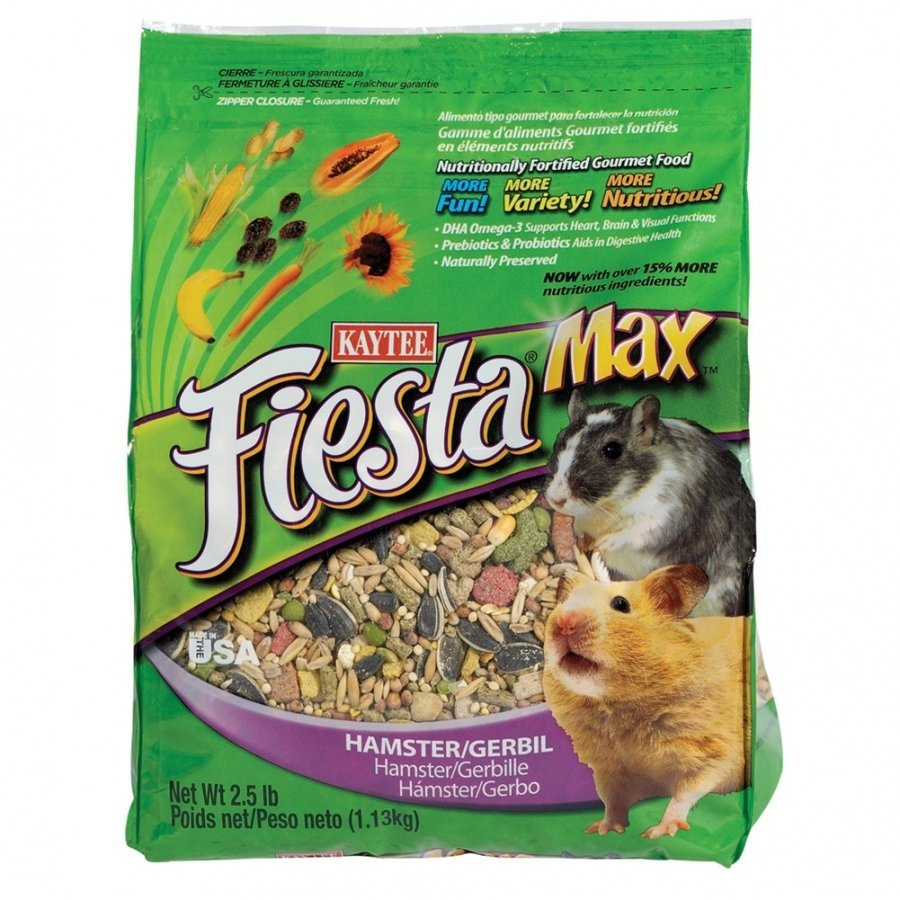 Fiesta Food Hamster And Gerbil / Size 5 Lbs