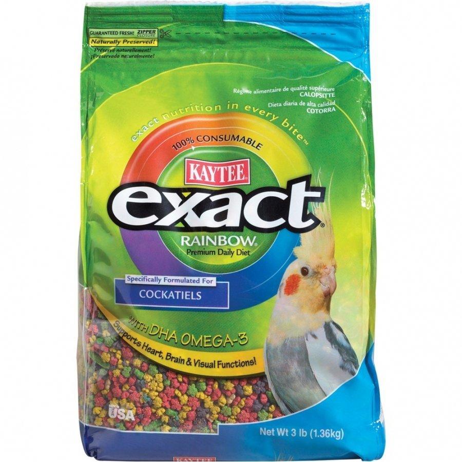 Cockatiel Exact Rainbow 3 Lbs