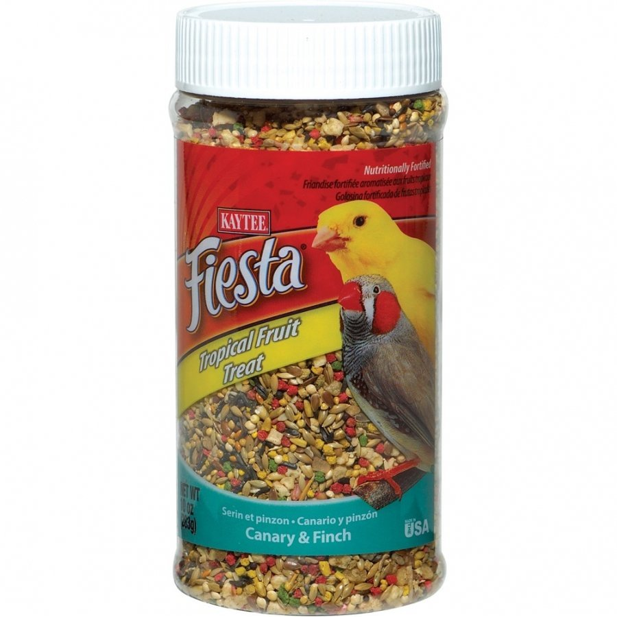 Fiesta Canary And Finch Tropical Fruit Treats 10 Oz.