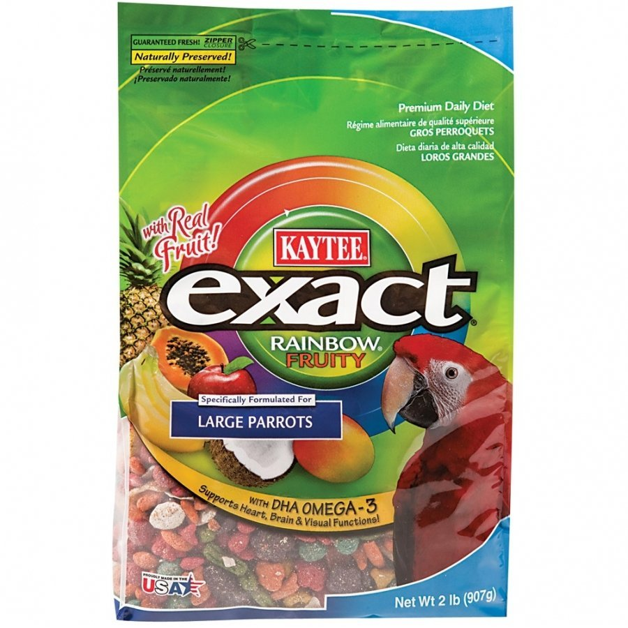Exact Fruity Rainbow Large Parrot 2 Lbs