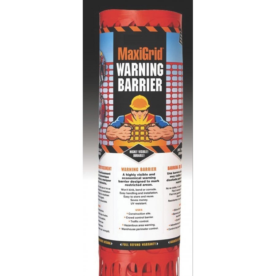Warning Fence 4x100 ft. Best Price