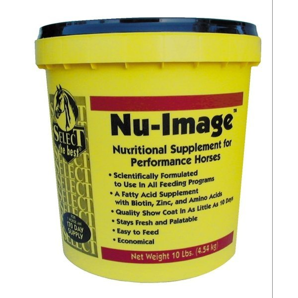 Select Nu-lmage Equine Supplement for Hair and Mane / Size (10 lbs.)