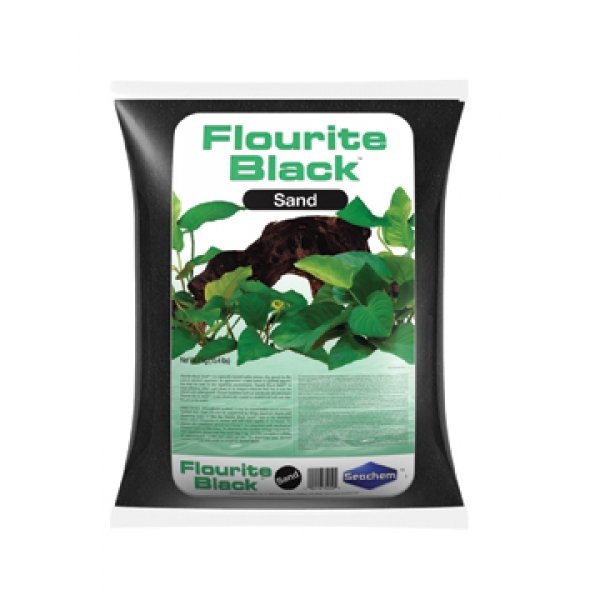 Flourite Sand Black 7 Kg Ea. Case Of 2