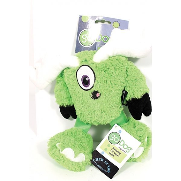 Go Dog Yeti Green Mooster / Size Mini