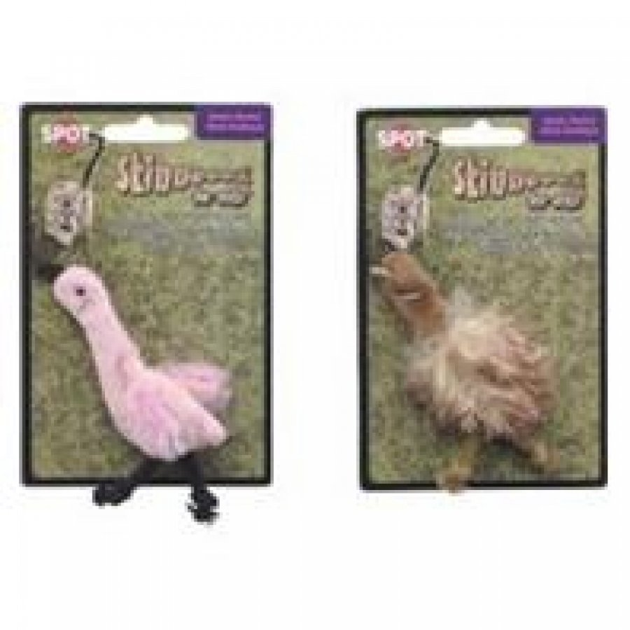 Skinneeez Exotic Birds Cat Toys