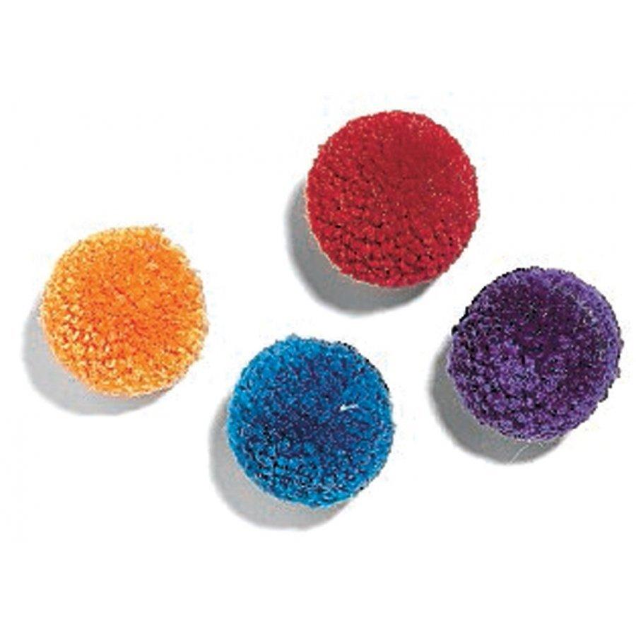 Wool Pom Poms With Catnip 4 Pack