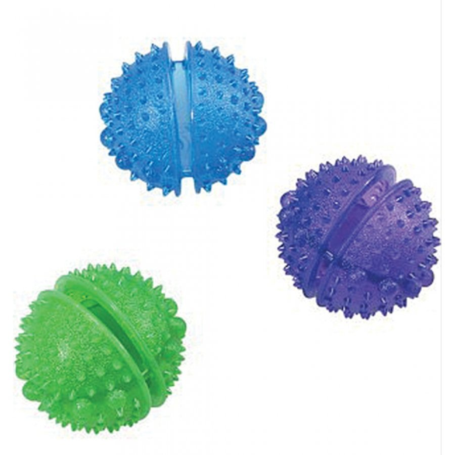 Dura-brite Dog Treat Toy / Size (3 in. Ball) Best Price