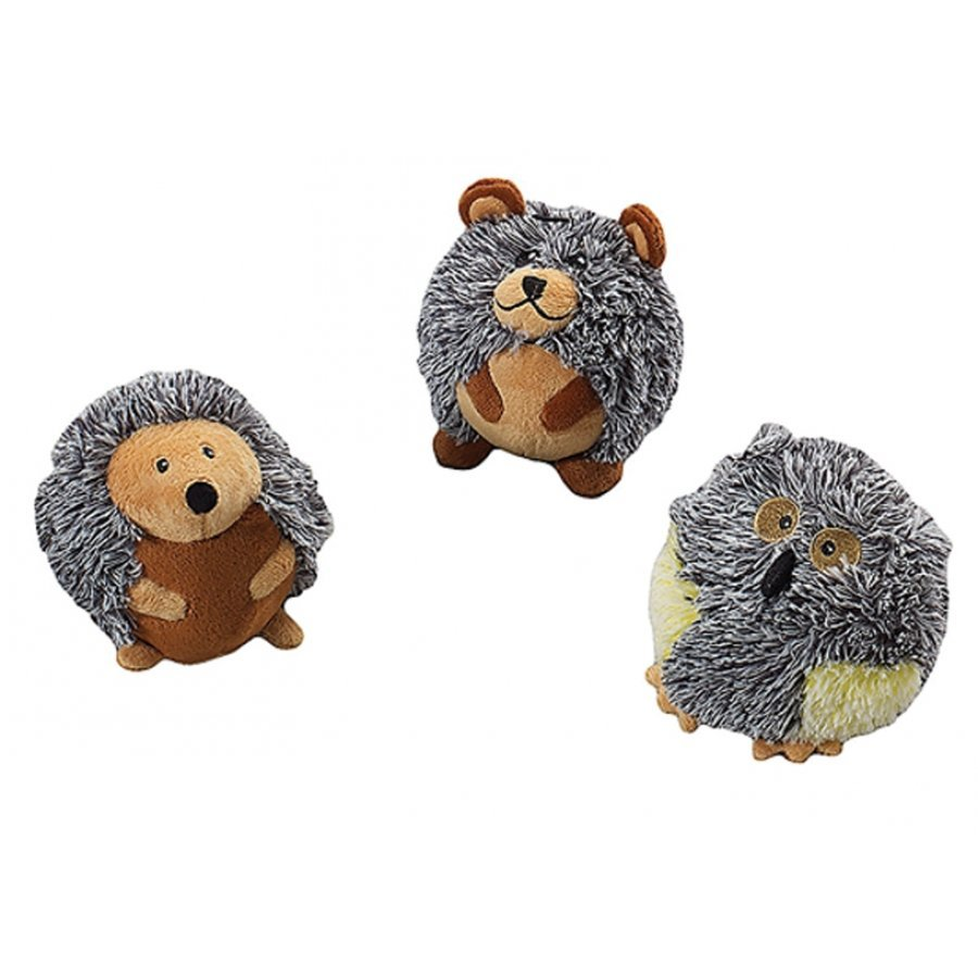 Butterballs Pet Toys / Size (Forest Animals / 4 in.)