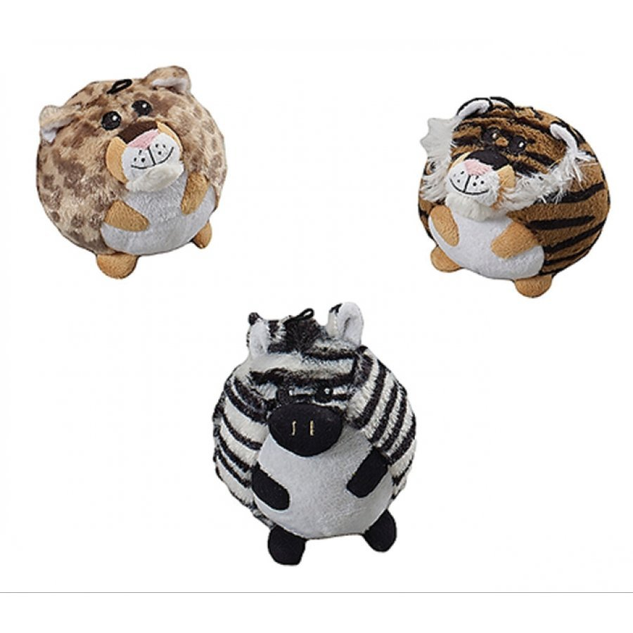 Butterballs Pet Toys / Size (Jungle Animals / 4 in.)