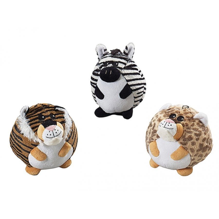 Butterballs Pet Toys / Size (Jungle Animals / 6 in.)
