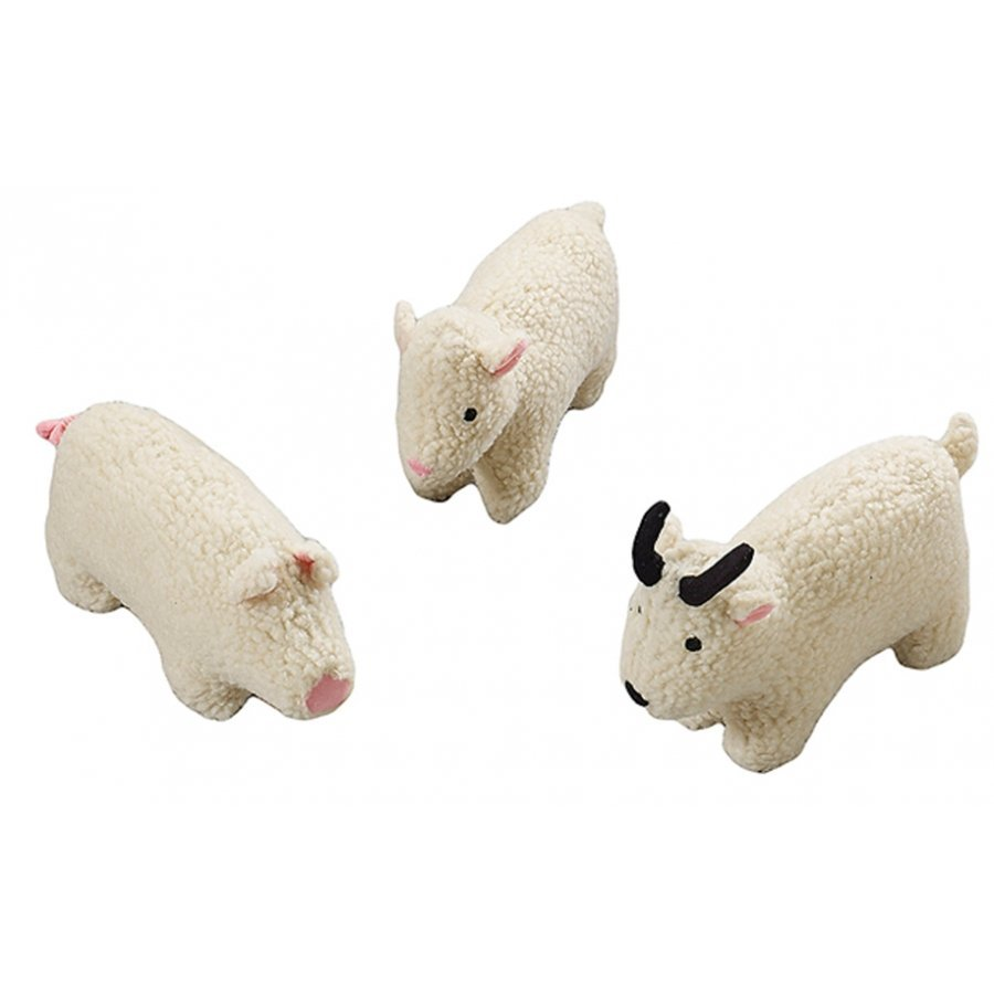 Fleece Dog Toy with Squeaker / Size (6 in. Farm Animal) Best Price