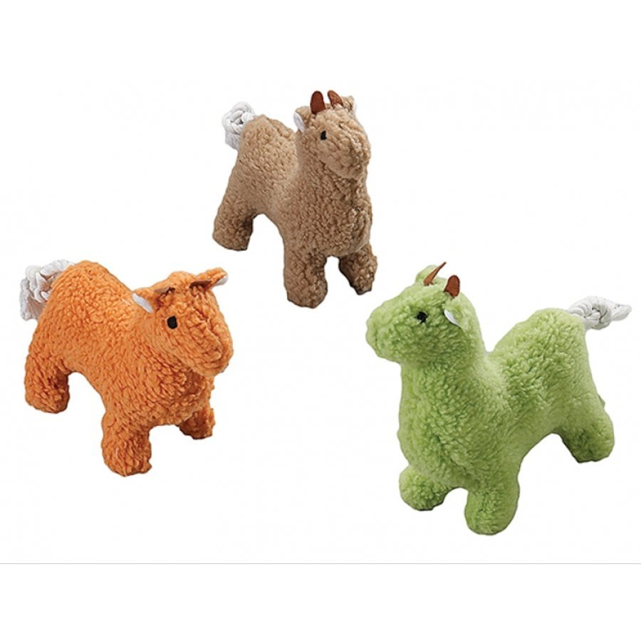 Fleece Dog Toy with Squeaker / Size (10 in. Llama)