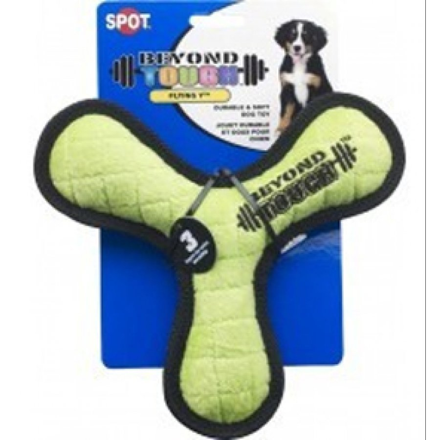 Beyond Tough Flying Y 7 in. Dog Toy
