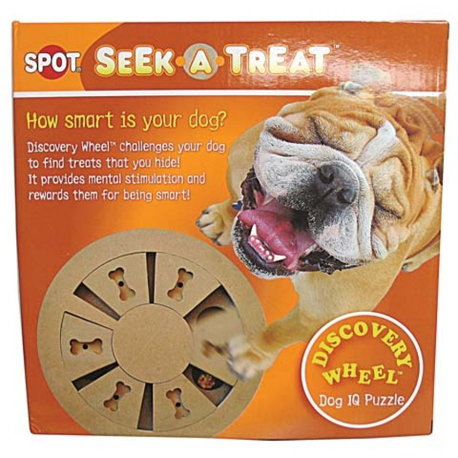 Seek-a-Treat Discovery Wheel Puzzle for Dogs