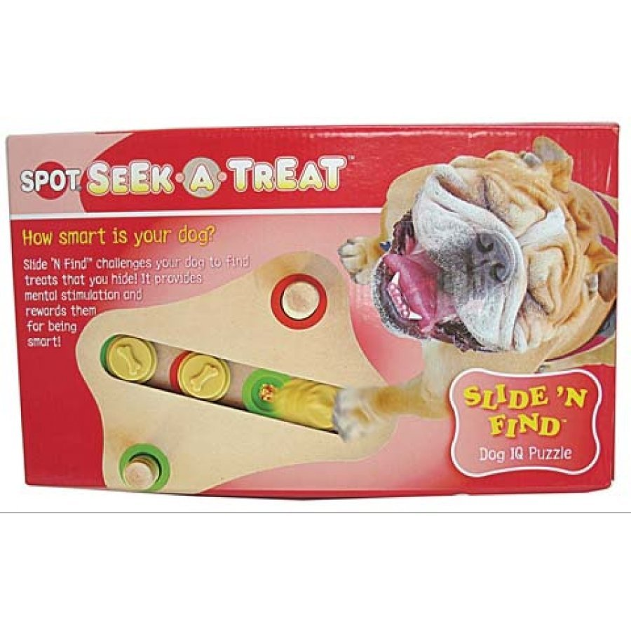 Seek-a-Treat Slide N Find Dog Puzzle