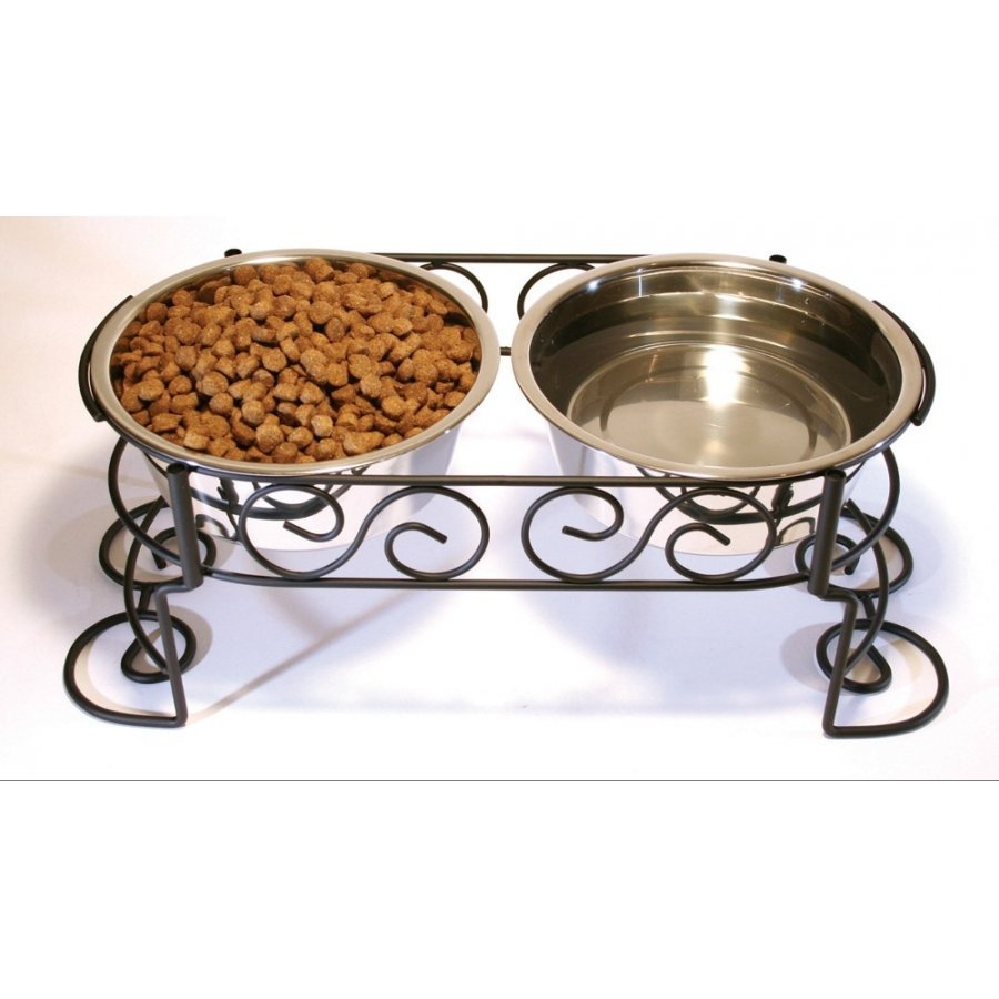 Elevated Designer Double Diner / Size 2 Quart