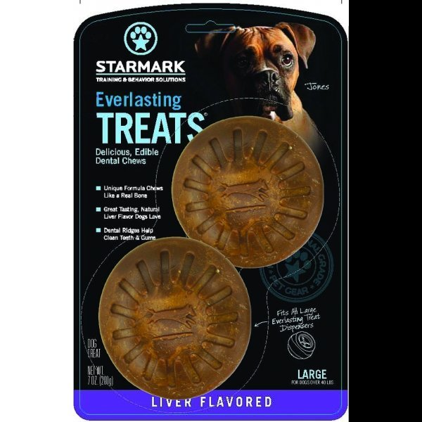 Everlasting Dog Treat Large / Liver