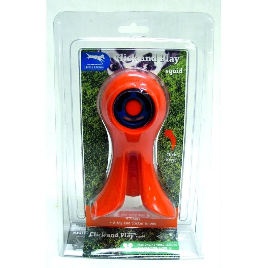 Click And Play Squid Training Device For Dogs Medium