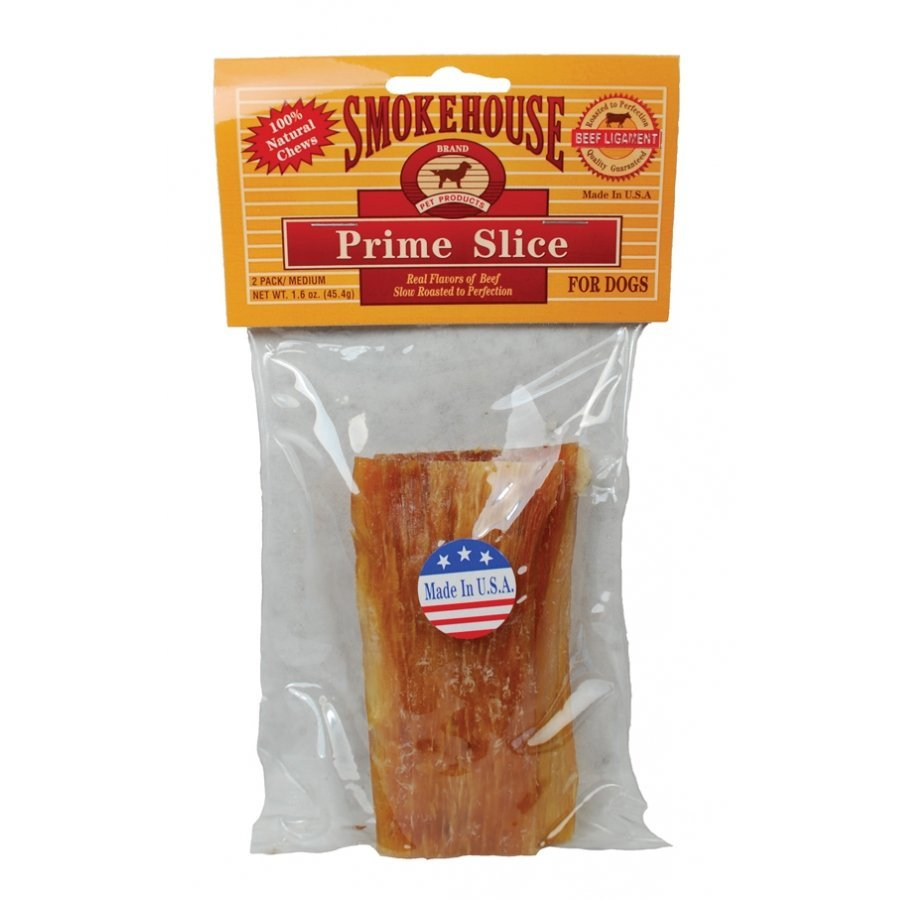 Smokehouse Prime Slice Dog Treat / Size 4 In/2pk