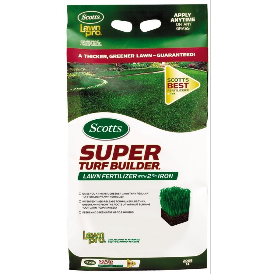 Scotts Turf Builder Lawn Fertilizer With 2 Iron Landscape