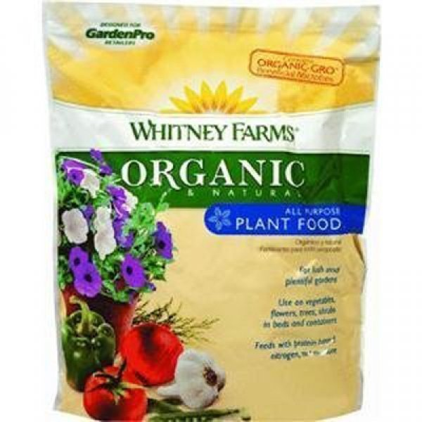 Organic Natural All Purpose Plant Food 4 lbs ea. (Case of 6) Best Price