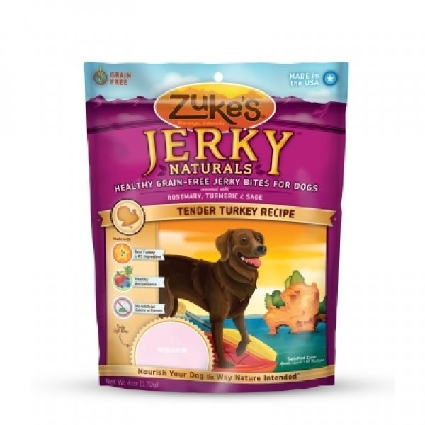 Jerky Naturals Dog Treats - Turkey 6 oz. Best Price