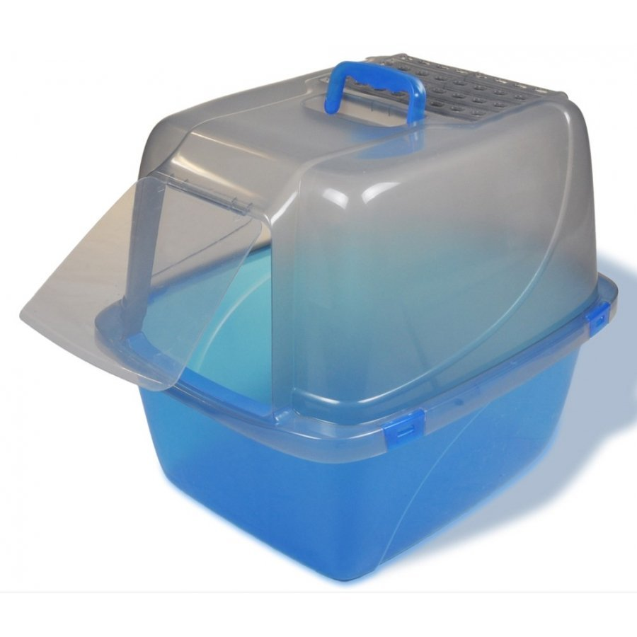 Translucent Enclosed Cat Pan / Size Giant