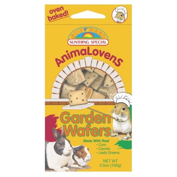 Animalovens Small Pet Treats / Flavor Garden Wafers