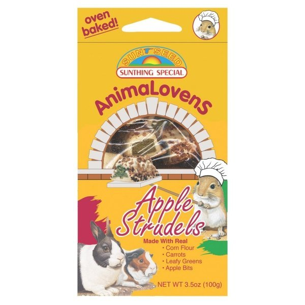 Animalovens Small Pet Treats / Flavor Apple Strudel