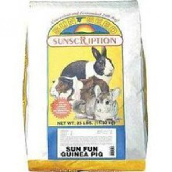 Sun Fun Guinea Pig Food / Size 25 Lbs