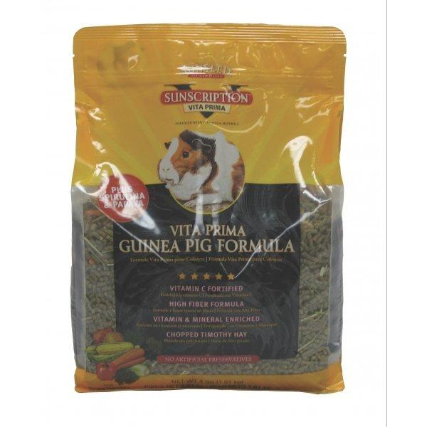 Vita Prima Guinea Pig Food / Size 4 Lbs.