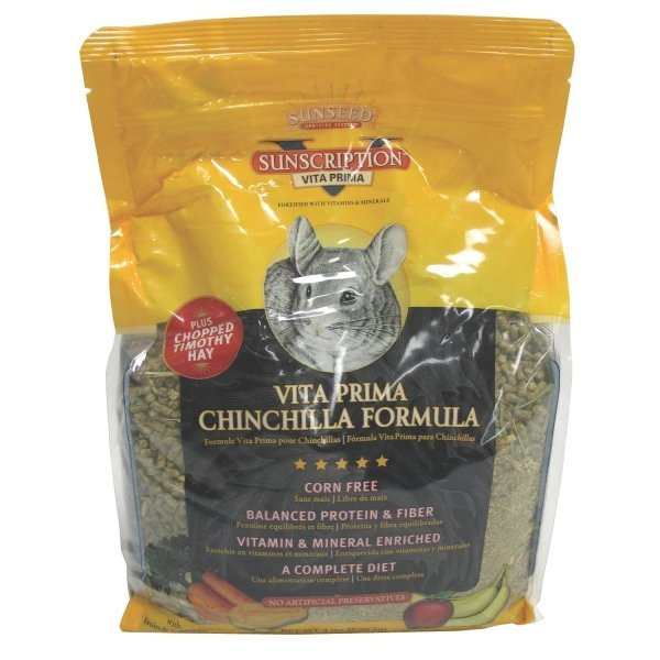Vita Prima Chinchilla Formula Food / Size 3 Lbs.