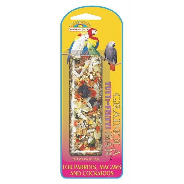 Grainola For Large Hookbills 2.5 Oz. / Flavor Tutti Frutti